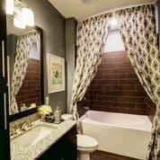 Bathroom With Bathtub at Berkshire Howell Mill, Atlanta, GA, 30318