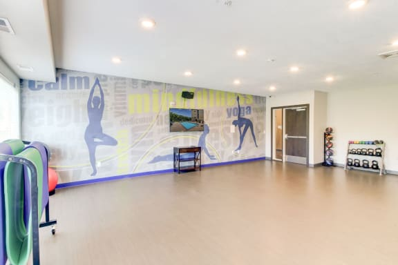 Berkshire Central Apartments Resident Club with Yoga and Wellness Center  9436 Ulysses Street NE, Blaine, MN 55434