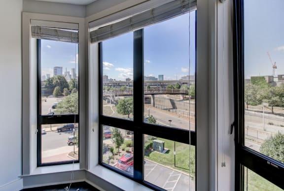 Boston Apartments with a View-Bay Window with Zakim Bridge View-Gatehouse 75 Apartments
