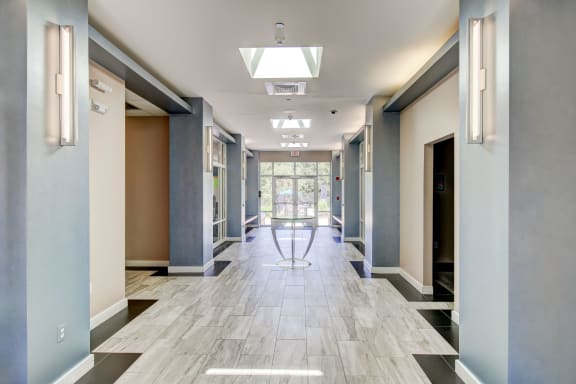 Resident Amenity Club with Clubroom, Entertainment Room and Game Room -HighPoint Apartments Quincy MA