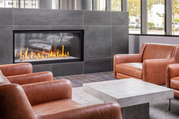 New Apartments Downtown Rochester MN near Mayo Clinic with Fireside Lounge-The Maven on Broadway