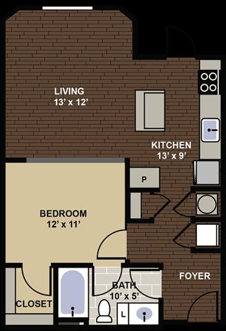 Iverson Floor Plan at Berkshire Dilworth, Charlotte