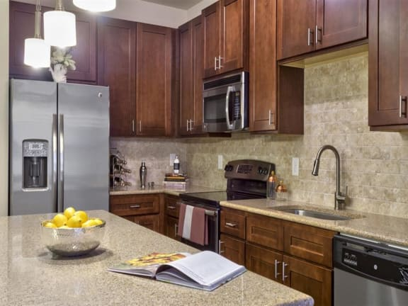 Granite Countertop Kitchen at Berkshire Cameron Village, North Carolina
