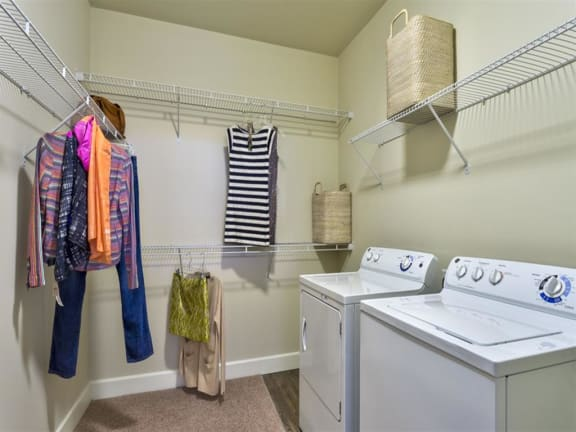 Washer And Dryer In Unit at Berkshire Cameron Village, Raleigh, NC, 27605