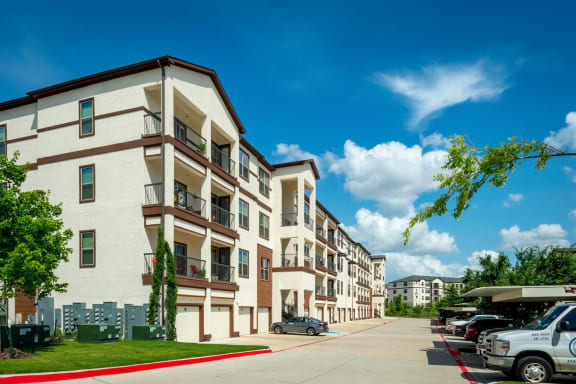Reserved Resident Parking at Mansions at Spring Creek, Texas, 75044