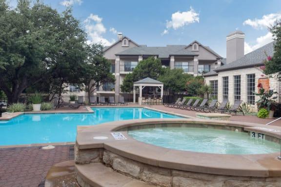 Hot Tub And Swimming Pool at San Marin, Texas, 78759
