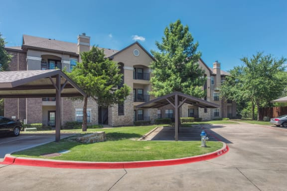 Covered Parking Available at Stoneleigh on Spring Creek, Garland, Texas
