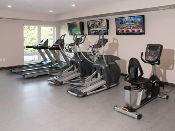 Cardio machines, Yoga and Wellness Studio, Berkshire Central- 9436 Ulysses Street NE Blaine, MN. 55434-Near Downtown Minneapolis-St.Paul MN.