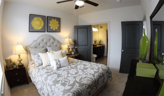 Bedroom with Private Bath at Artisan on 18th, Nashville, TN, 37203