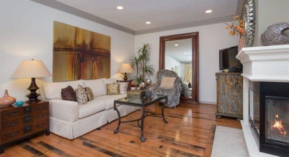 Open Concept Living Room at Estancia Townhomes, Dallas