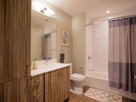 Model Bathroom at Via Seaport Residences, Boston