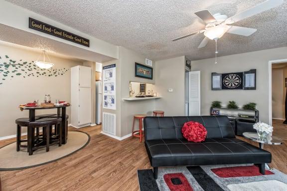 Apatment with Hard Wood Floors at Abbey Glenn Apartments, Waco TX