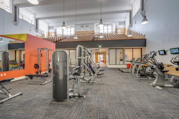 3000 square foot Fitness Center at 101 Ellwood Baltimore, MD