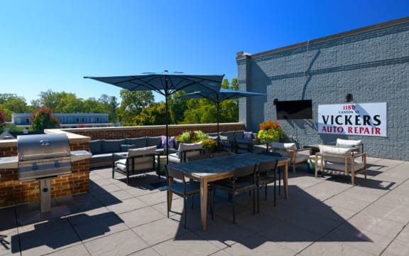 Rooftop Terrace  at Vickers Roswell, Roswell, 30075