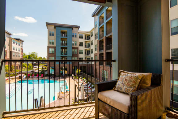 Image Of Balcony at Liberty Mill, Germantown, MD