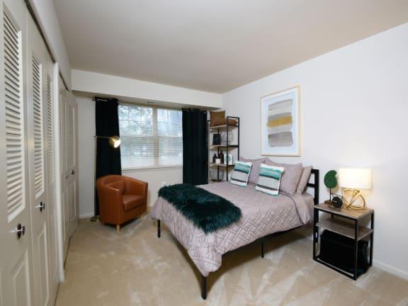 Plush carpeted apartments at Woodridge in Randallstown