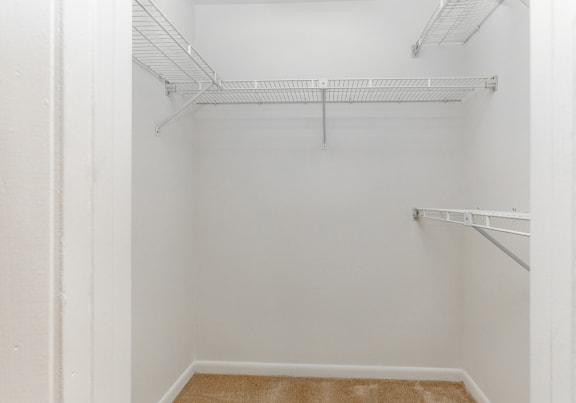 Ample closet storage at Spring Hill Townhomes