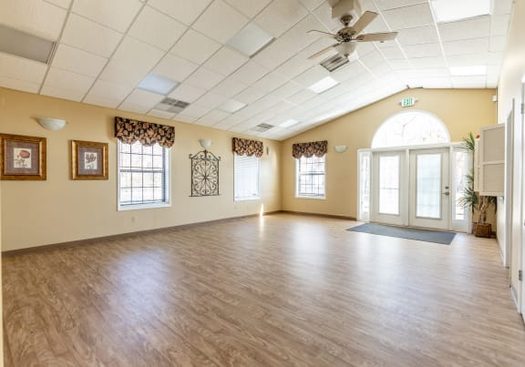 Clubhouse for parties and events for rent at Spring Hill Townhomes