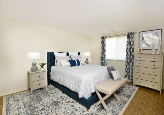 Tile or hardwood floors at Winston Apartments in Baltimore