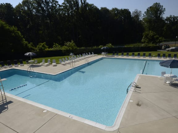 Poolside Entertainment Area at Woodridge Apartments, 3901 Noyes Circle, Randallstown, MD 21133