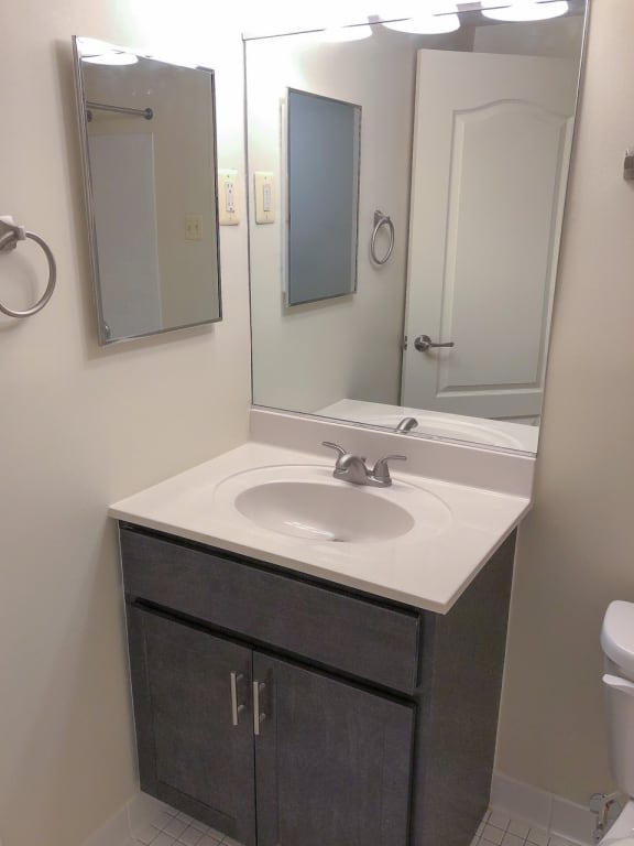 Update bathrooms at Seminary Roundtop Apartments in Lutherville