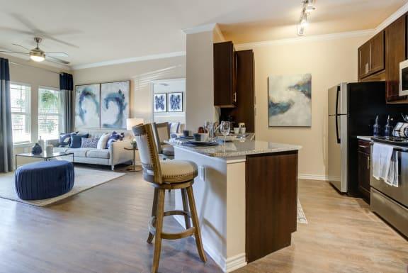 Granite Countertop Kitchen at Residence at Midland, Texas, 79706