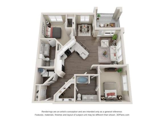 Floor Plan  Key Largo