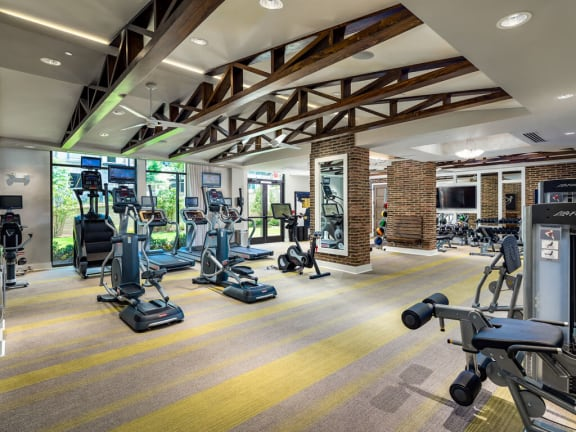 Modern Fitness Center at Millworks Apartments, Atlanta, 30318