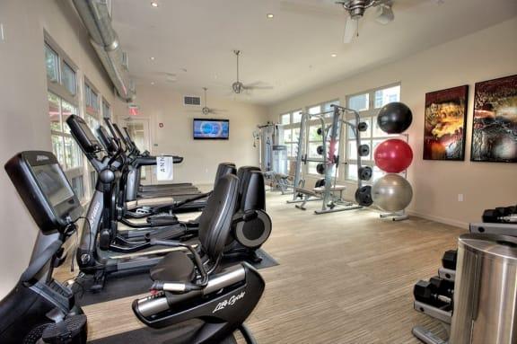 Santa Rosa CA Apartment homes for rent Annadel l Fitness Center