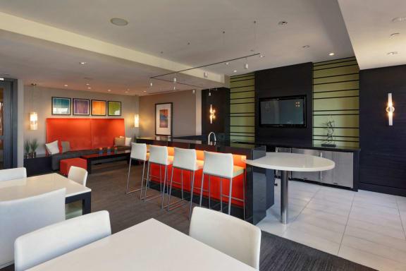 Clubroom at Aura Pentagon City, Arlington, VA