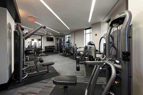 Fitness Center at Aura Pentagon City, Virginia