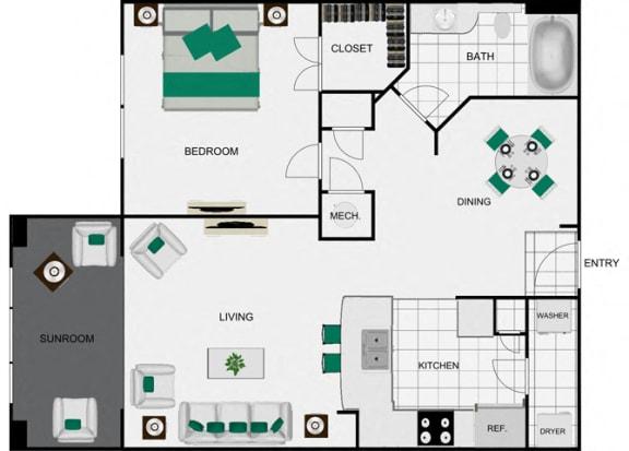 Floor Plan  floor plan view for arlo westchase