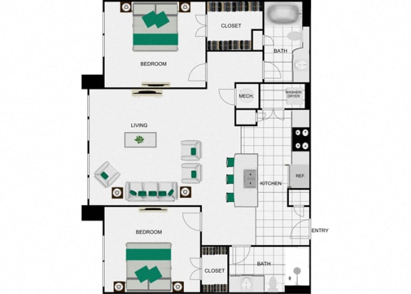 B9 Floorplan for arlo westchase