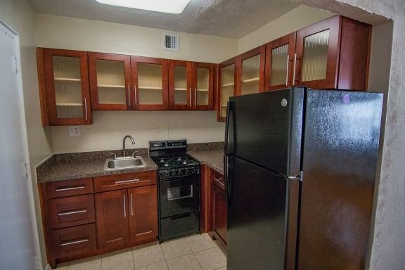 Capital Plaza Apartments Studio One Kitchen 01