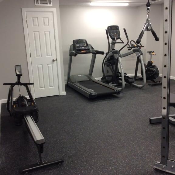 Capital Plaza Apartments Fitness Center Photo
