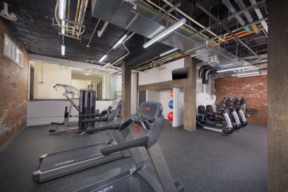 The Metropolitan Apartments Fitness Center