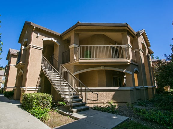 Private and Secluded Balcony or Patio at Apartments Near Rolling Hills Park