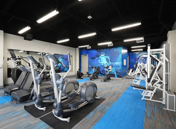 Six1Five Apartments Fitness Center