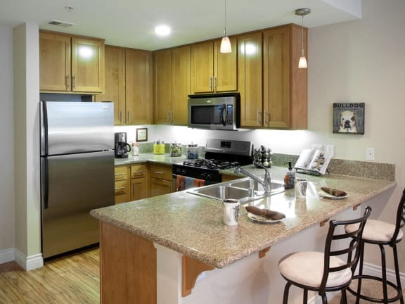 Six1Five Apartments Kitchen