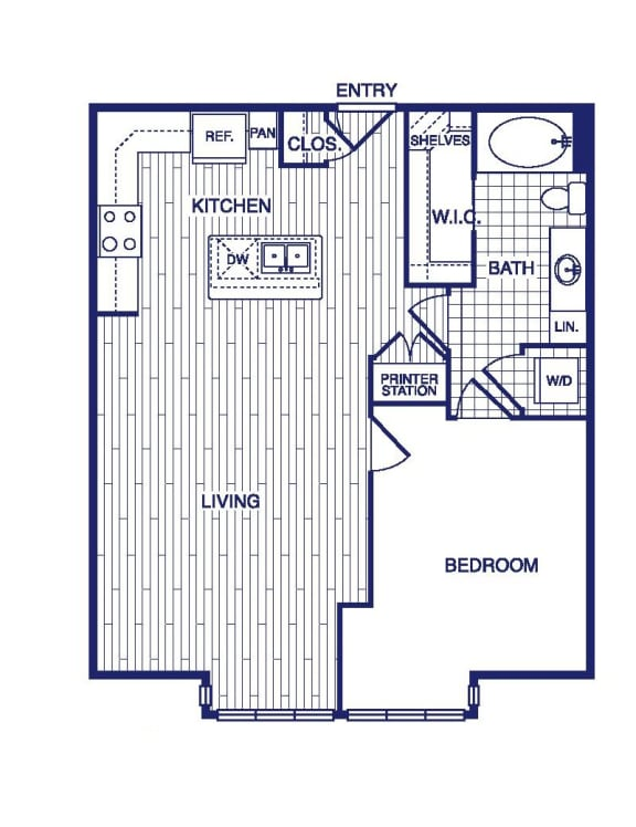 Floor Plan  A10 Floor Plan at Vargos on the Lake, Houston, TX