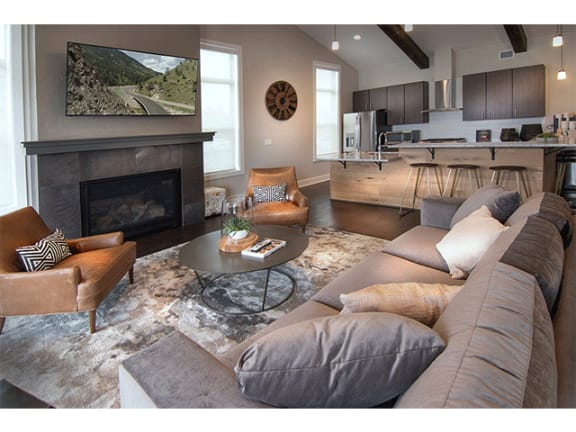 Beautiful Clubhouse at Pinyon Pointe, Colorado
