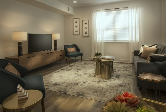 Classic Living Room Design at Pinyon Pointe, Loveland, CO