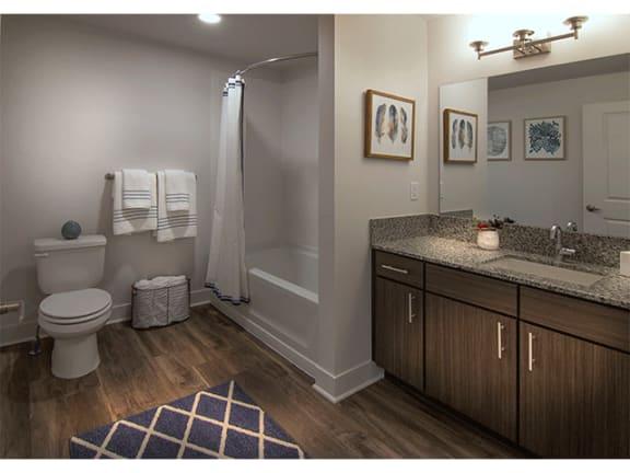 Spa Inspired Bathroom at Pinyon Pointe, Colorado
