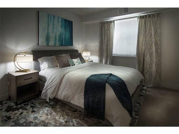 Comfortable Bedroom at Pinyon Pointe, Loveland, CO, 80537