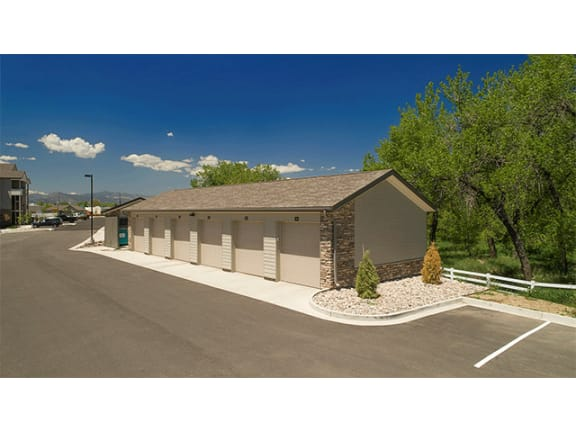 Detached Garages Available at Pinyon Pointe, Loveland, 80537
