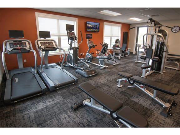 Fitness Center - Available 24/7 at Pinyon Pointe, Colorado, 80537