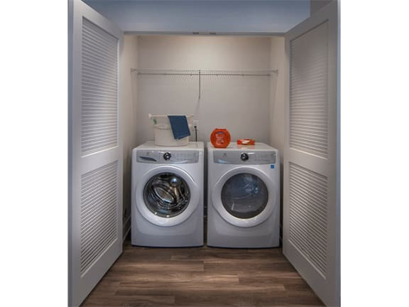 Full Size Washer & Dryer in Each Home at Pinyon Pointe, Loveland, Colorado