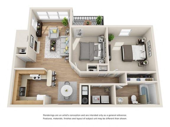 Floor Plan  Addison at Sandy Springs_Arbor