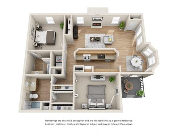 Floor Plan  Addison at Sandy Springs_Hampton