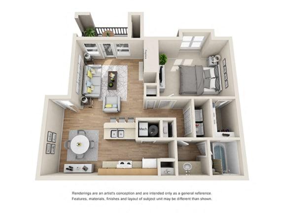 Floor Plan  Addison at Sandy Springs_Meadow